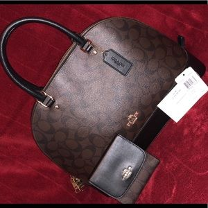 Authentic Coach Purse and wallet!